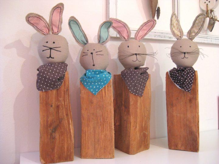 Die Hasen sind los. Fröhliche Ostern