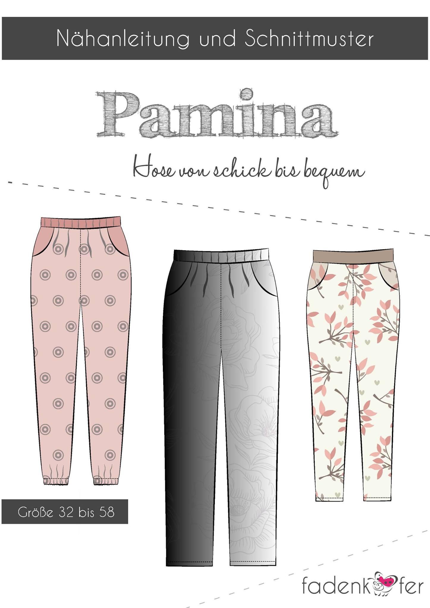 Papierschnittmuster Fadenkäfer Pamina Erwachsene | NähLi